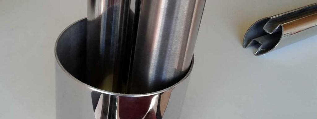 handmatig slijpen RVS polijsten RVS schuren